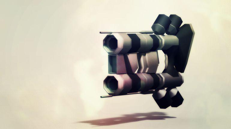 Hi Res Space Gun