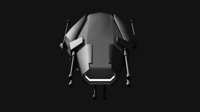 ENTROPY Fighter Concept Front