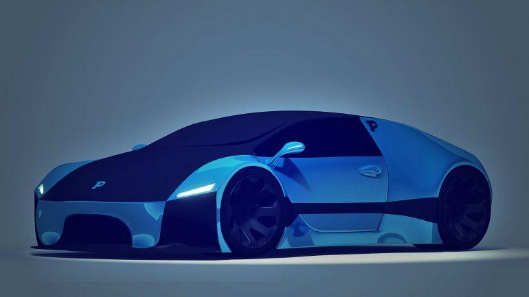 Pondurant Electric Car Future Concept Front