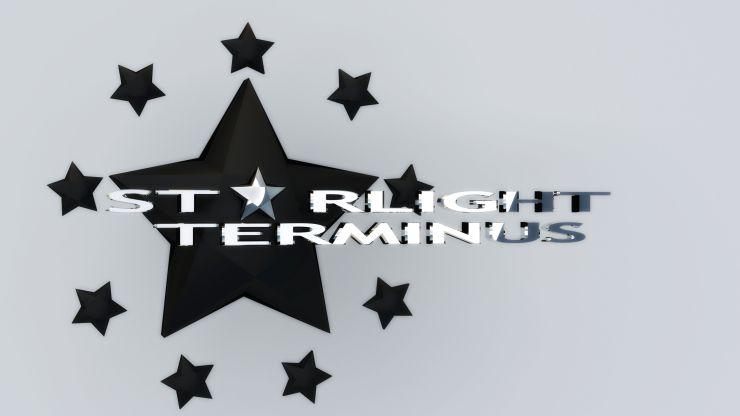 StarLight Terminus Star Logo Black and White