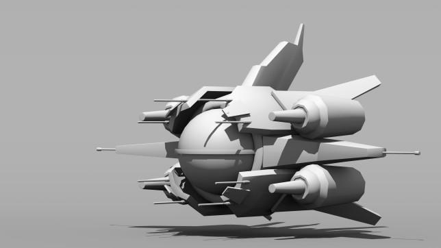 White Dove Fighter Concept