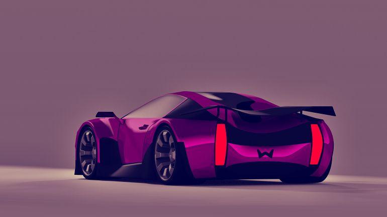Weisson Portrait Concept Car Rear