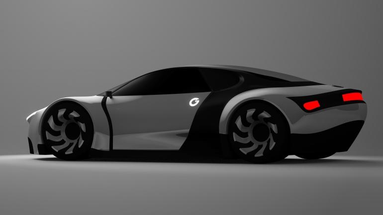 concept car for game skytec