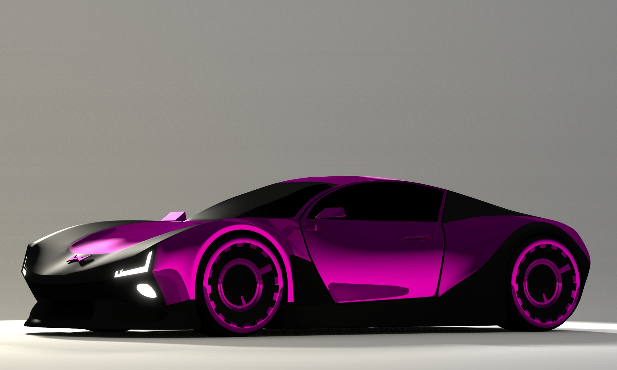 Concept Car Final rendering