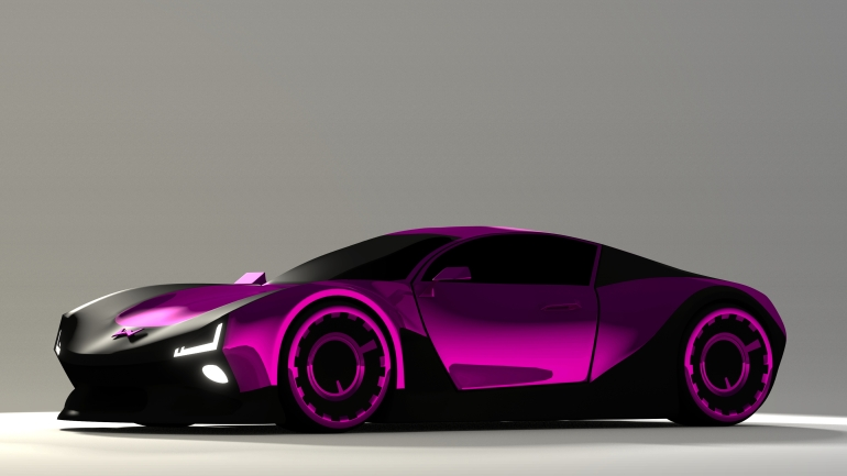 Concept Car Final rendering