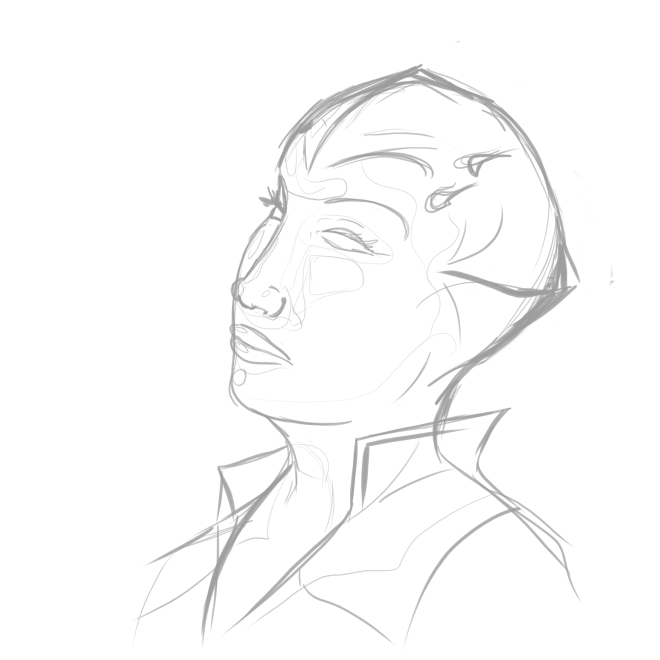 A rough sketch of Imperial in Portrait
