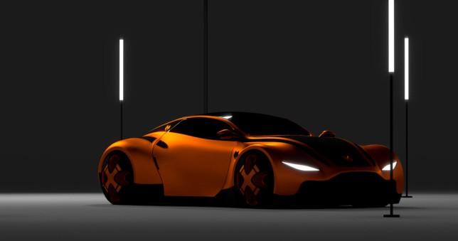 Stills image of car